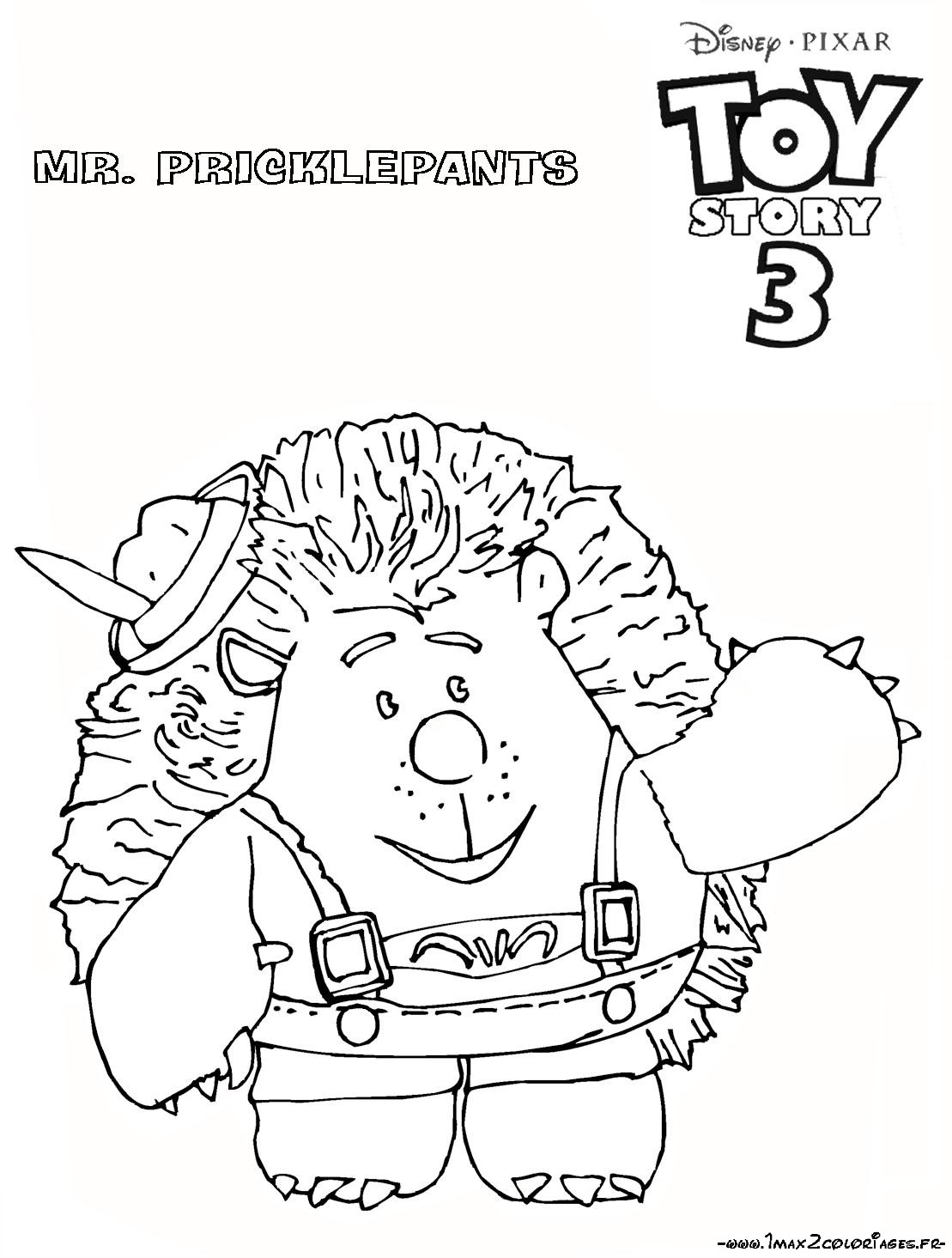 10 toys story 3 coloriage - Coloriage pixar ...