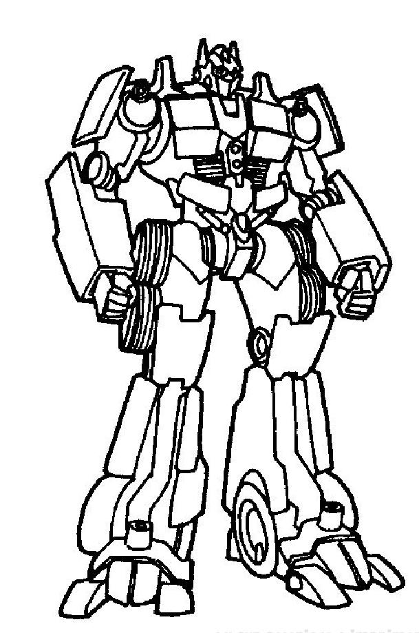 Coloriage a imprimer transformers poings serres gratuit et colorier - Coloriage transformers ...