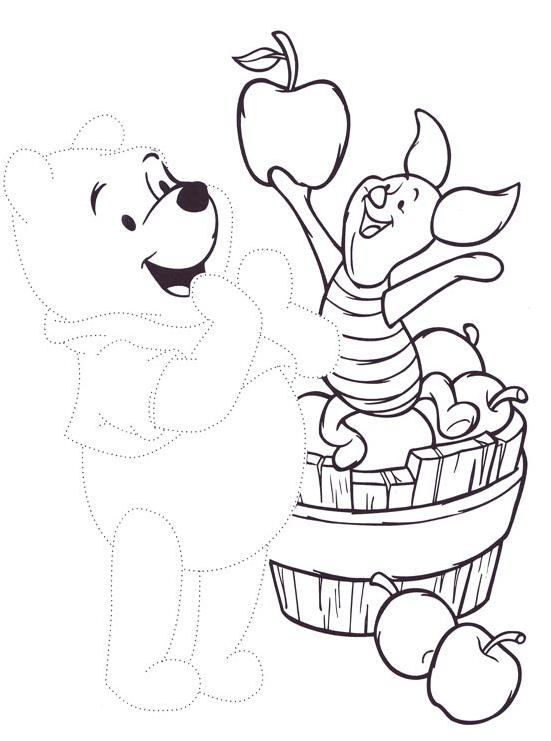 Coloriage point a point a imprimer winnie et porcinet - Porcinet dessin ...