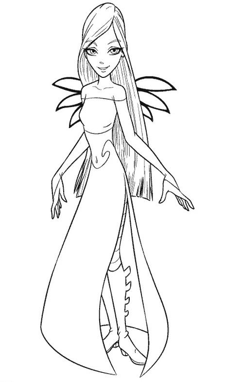 jetix witch coloring pages - photo#5
