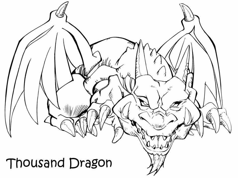 Coloriage a imprimer yugioh le dragon centenaire gratuit - Dessin dragon a imprimer ...