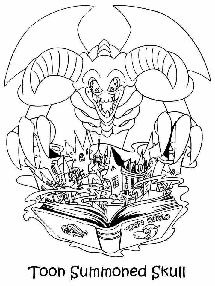 Coloriage a imprimer yugioh le monstre des jouets gratuit et colorier - Coloriage yu gi oh ...